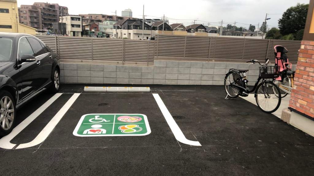 コメダ珈琲店 練馬土支田店の優先駐車場