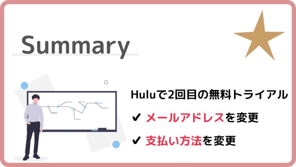 Hulu2回目の無料トライアルまとめ