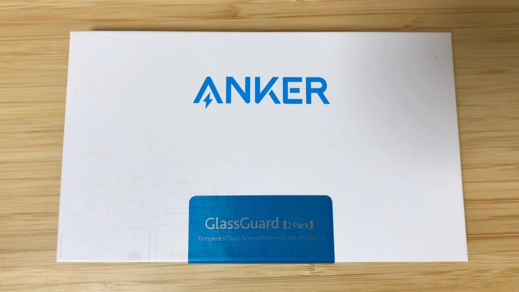 ガラスフィルム「Anker GlassGuard」