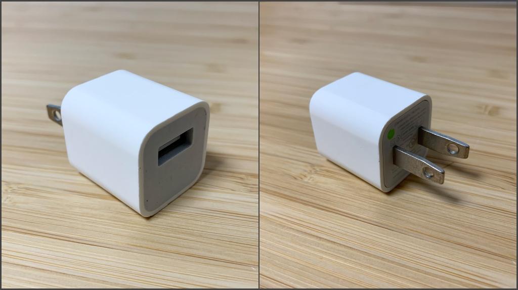 Apple 5W充電アダプタ