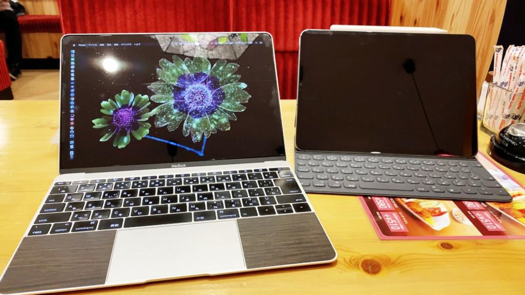 MacBookとiPadでSidecar